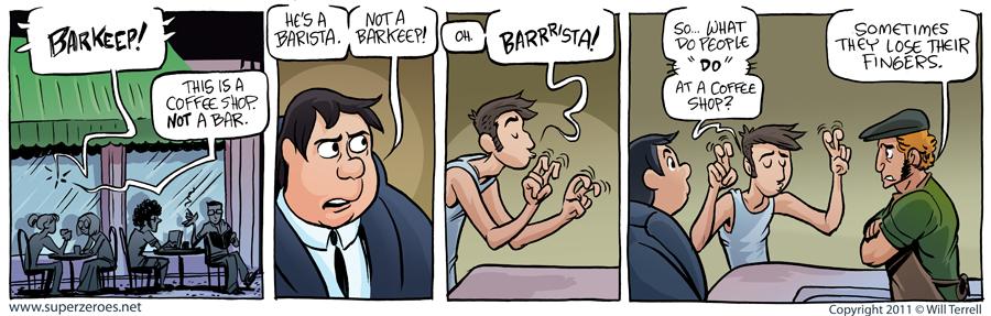 mister barista
